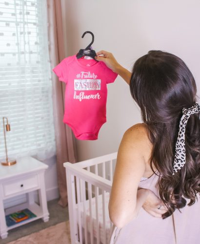 Pink glam blush nursery