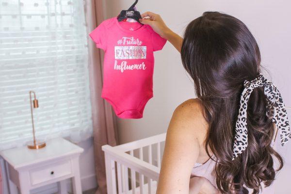 Pink glam blush nursery